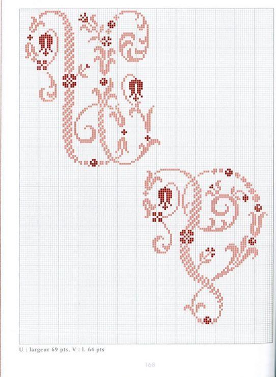 Gallery.ru / Фото #98 - Belles lettres au point de croix - logopedd