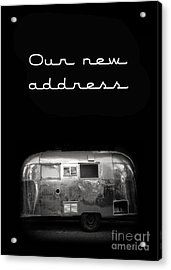 Our New Address Announcement Card Acrylic Print