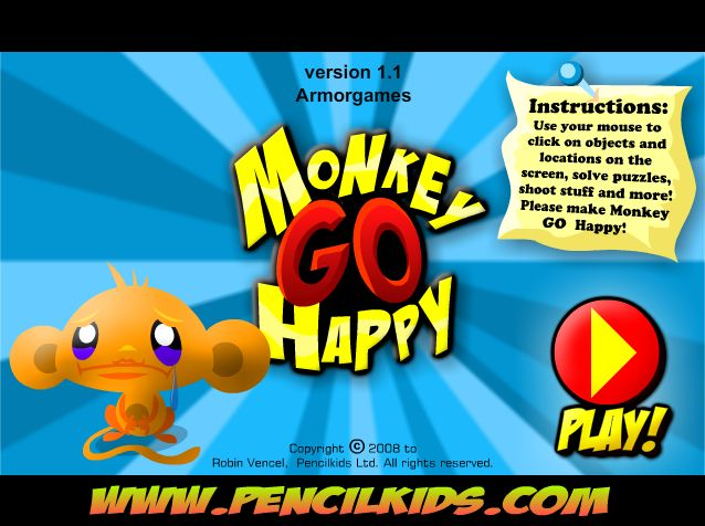 Monkey Go Happy - Super cool game in which you do random stuff to please a monkey! There are over 20 games!!