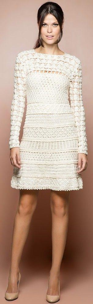 Vanessa Montoro crochet dress...pic only...crochet inspiration ONLY...
