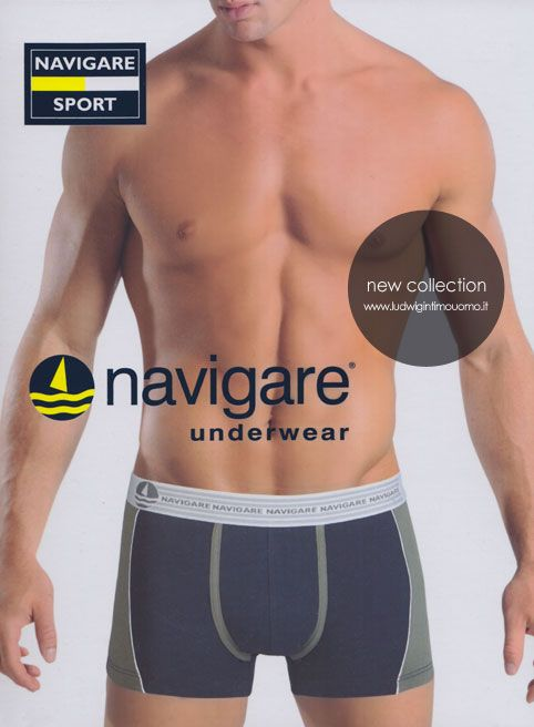 Boxer Uomo, intimo uomo Navigare underwear. New Boxer Line. Navigare Underwear collezione Primavera Estate 2014. Boxer Uomo Intimo Uomo Navigare.  #boxer_uomo #intimo #intimo_uomo #underwear  http://www.ludwigintimouomo.it/26-boxer