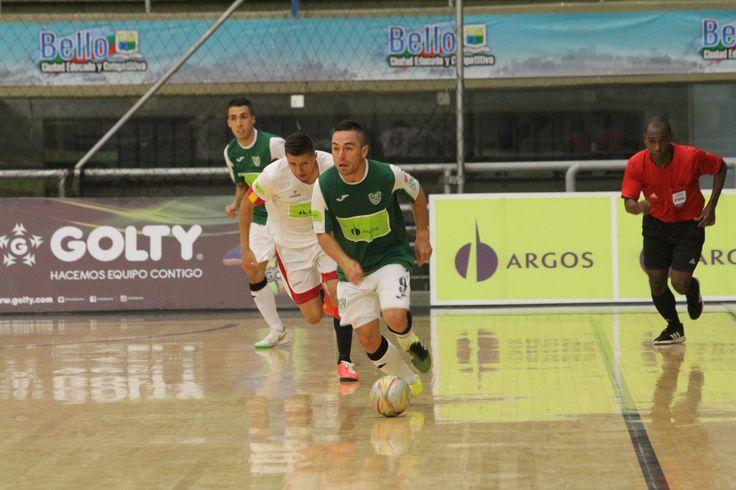 Real Antioquia logró avanzar a la final de la Liga Argos Futsal, por primera ocasión.