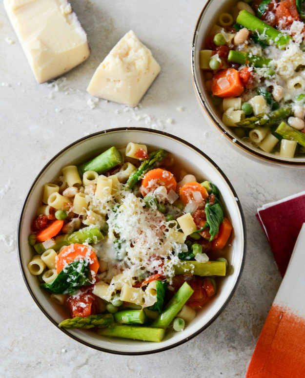 Springtime Minestrone | 15 Fresh Spring Dinners You Can Make In A Slow ...