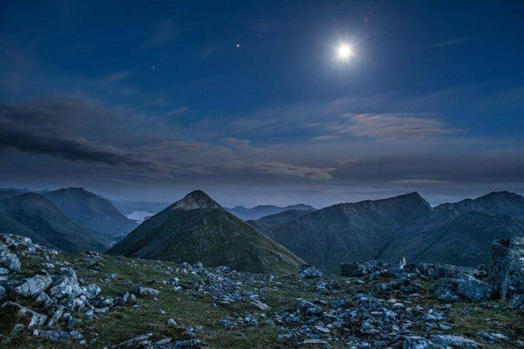 Midnight in Glen Coe