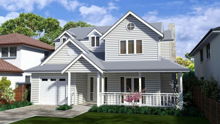 Design of August 2013 - The Hamptons Design - Storybook Designer Kit Homes Australia