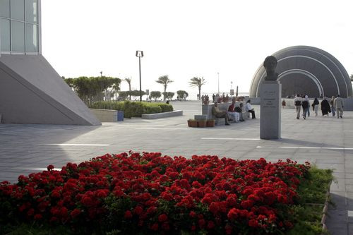Александрия библиотека, библиотека в Александрии, современная библиотека Александрии, музей древностей, планетарий фото
