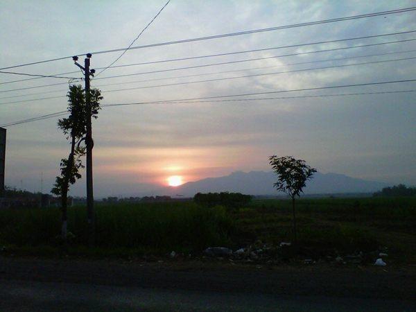 #sunset dkampoong... /via @miss_naniek