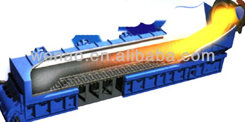 Control-Flow Grate Cooler, clinker grate cooler, Grate cooler mechanical in cement plant