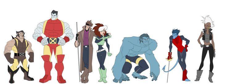 BENDIS! — X-Men designs by MatthewRHumphreys