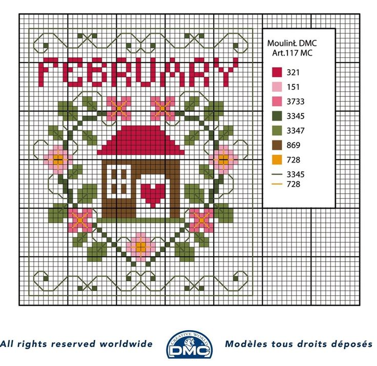 schema+punto+croce+mesi+dell%27anno-+febbraio.jpg 1,203×1,168 pixeles