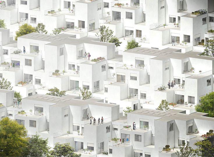fala atelier: alvenaria logement modulaire sociale, lisbonne