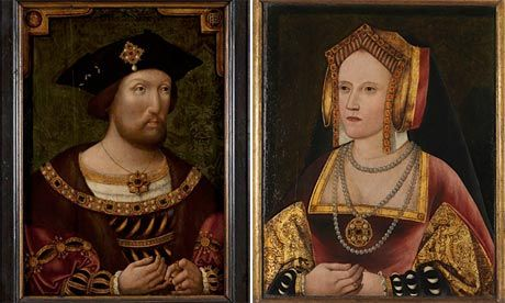 National Portrait Gallery reunites Henry VIII with Catherine of Aragon  Henry VIII and Catherine of Aragon famously parted on tricky terms, but the National Portrait Gallery announced on Thursday it was reuniting the royal couple after it discovered an image of the devoutly Catholic queen hanging in, of all places, Lambeth Palace.