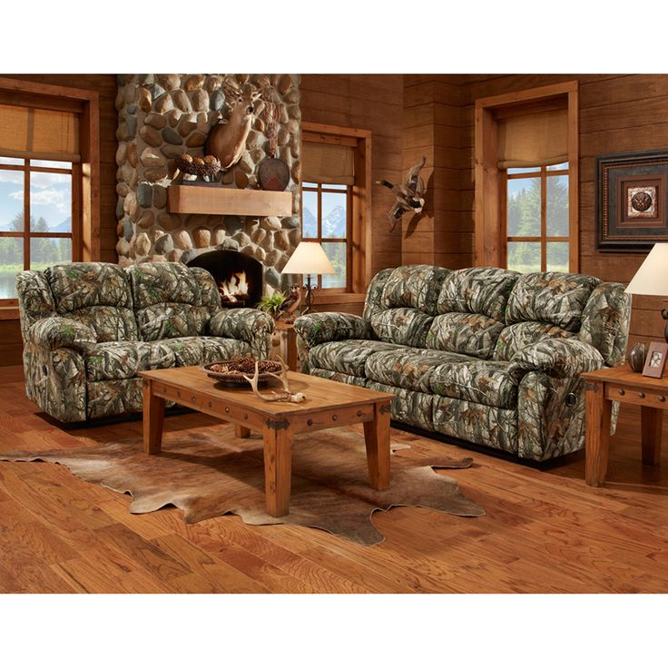 camo living room furniture couch sofa loveseat