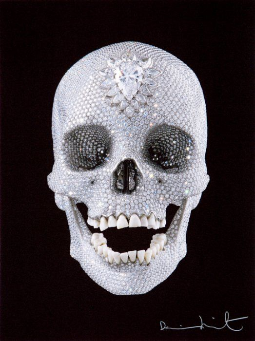 For the Love of God 'Believe' by Damien Hirst - Te huur/te koop via Kunsthuizen.nl. #damienhirst #fortheloveofgod #diamondskull  #art #kunsthuizen