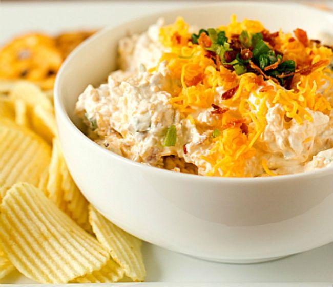 Recipes, Loaded Baked Potato Dip Recipe, Food Recipes, Food Network ...
