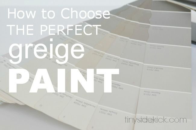 How to choose the perfect greige paint paint colors for Perfect neutral gray paint