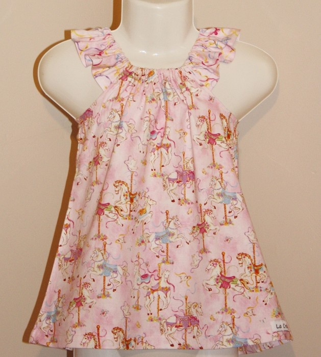Carosole Rose Dress Choose your Size 00-3 - by LACrafts on madeit
