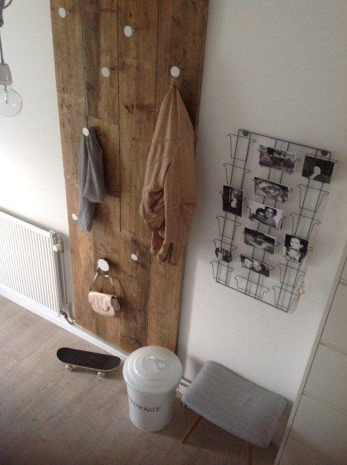 5 ideas para decorar el recibidor con reciclaje- Decorar Mi Casa