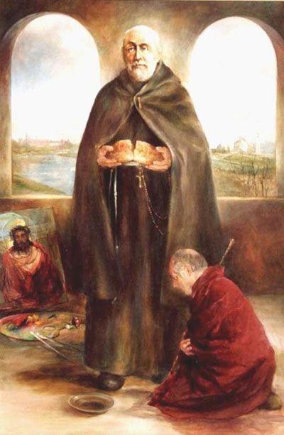 Religioso da Terceira Ordem Regular (1843-1916). Fundador dos Servos e Servas dos Pobres de São Francisco. Canonizado por São João Paulo...