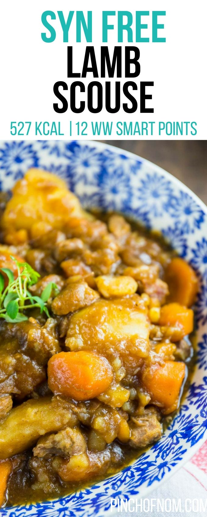 Syn Free Lamb Scouse | Pinch Of Nom Slimming World Recipes 527 kcal | Syn Free | 12 Weight Watchers Smart Points