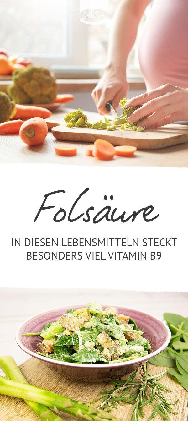 folsäure lebensmittel tabelle