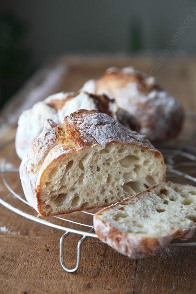 pain sans petrissage mie LE MIAM MIAM BLOG