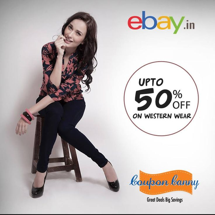 Upto 50% off on #Western Wear at Ebay.in! http://www.couponcanny.in/ebay.in-coupons/