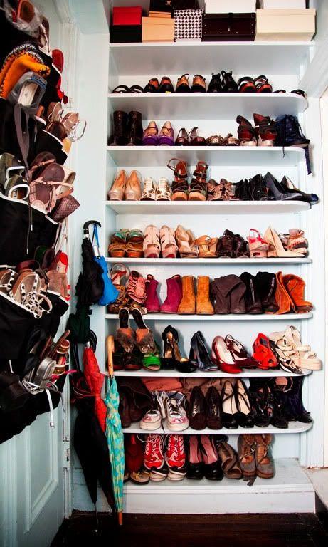 Stylish Home: Shoe Closets   MyLusciousLife