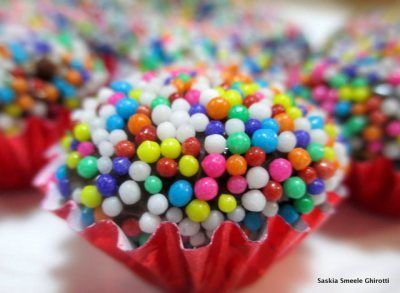 Brigadeiro = One of the best things about Brazil. Easy Recipe and great for children!