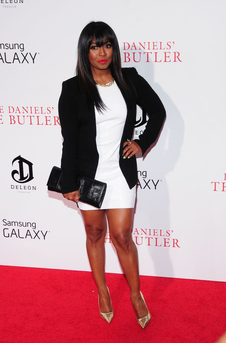 Keisha Knight Pulliam at The Butler premiere in NYC