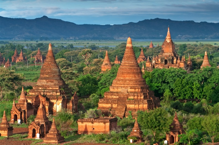 The magnificent temples of Bagan, Myanmar. #agoda