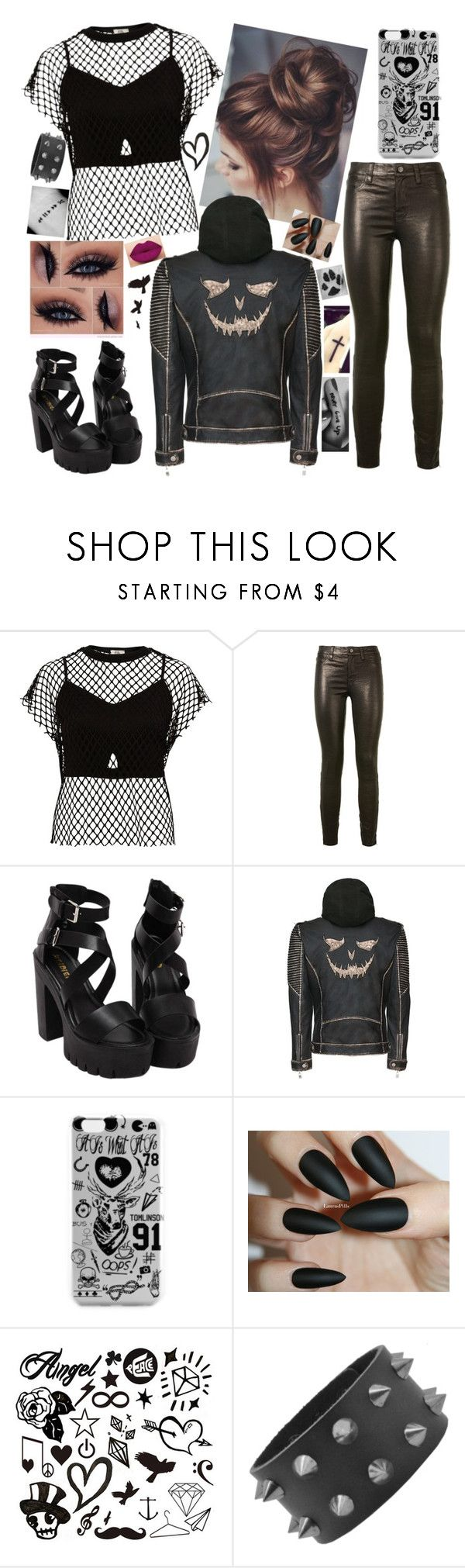 """""""Joker ❤"""" by tany-buny ❤ liked on Polyvore featuring River Island, J Brand and Disney"""