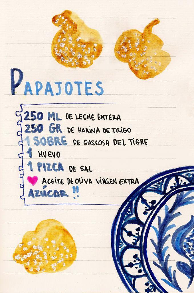 PAPAJOTES DULCES DE #JAÉN de Gastro Andalusi