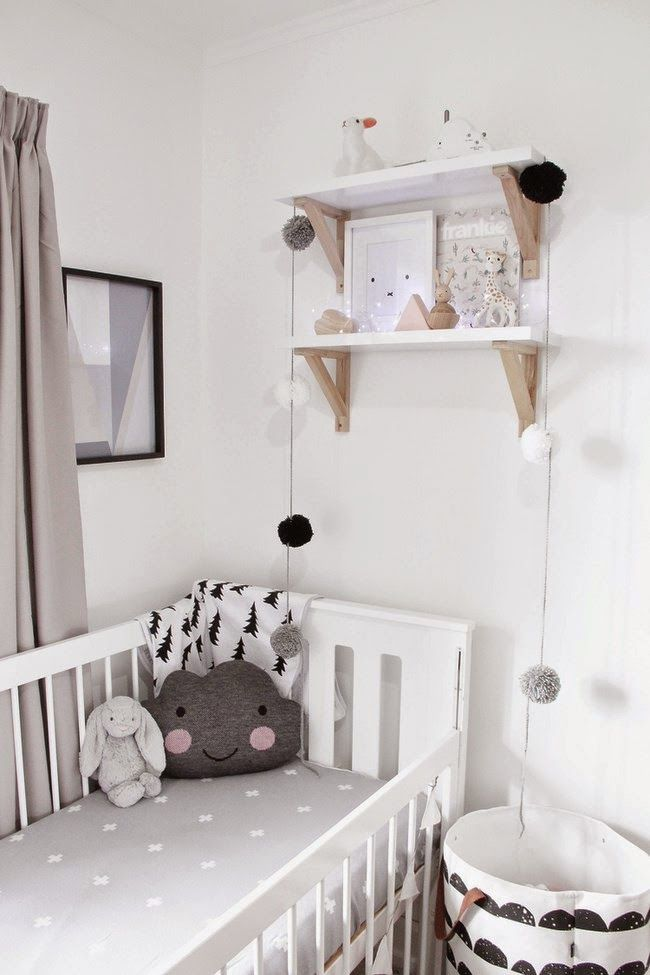 BABY ROOM PINK AND GREY, LOVE IT!