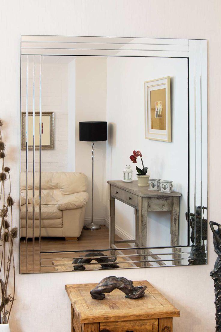 Mirror Outlet Has The Largest Range Of Venetian Frameless Mirrors Including Eden Triple Edge 144 X 117