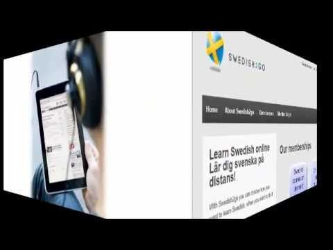Learn Swedish Online - Swedish lessons & grammar - Learn Swedish Online! | Swedish study material | Swedish video lessons Free Trial