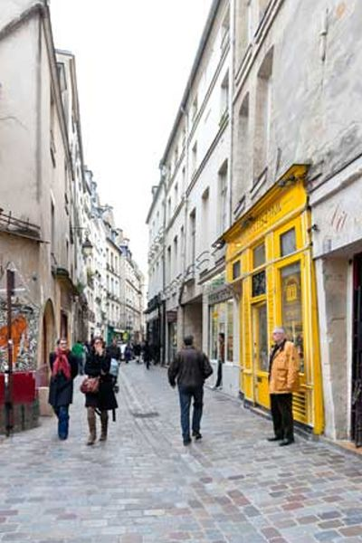 Hands down the best shopping neighborhood in Paris, the Marais is all that and so much more.