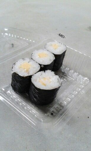 Sushi is always the best :3