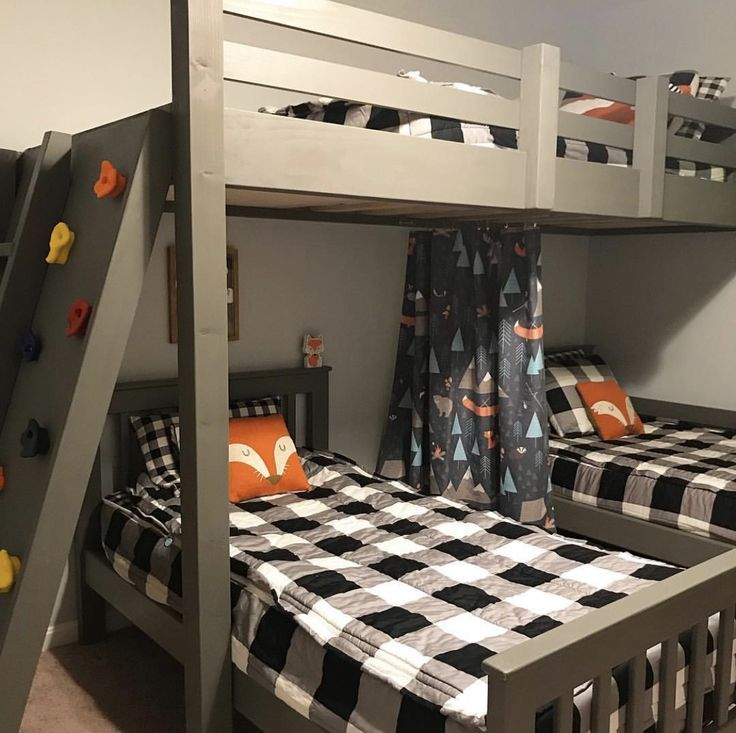 Bunk Beds And Beddy S Zipper Bedding Go Together Like Peanut Butter And Jelly Beddys Zipyourbed Zipperbeddin Boys Bedroom Decor Boys Bedrooms Camping Room