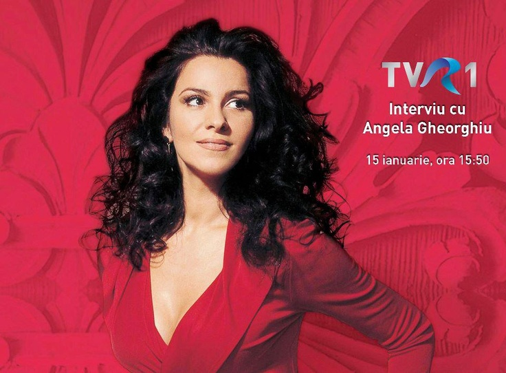 romanian opera singer Angela Gheorghiu