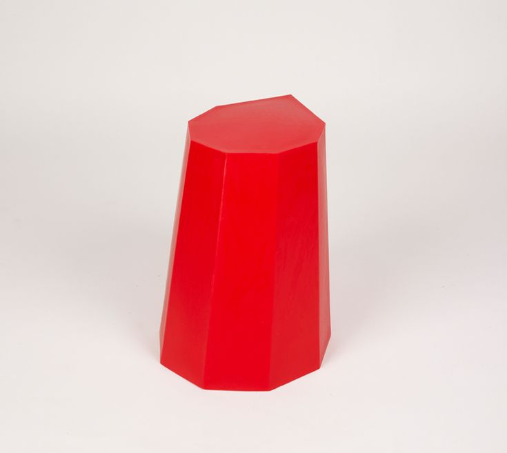Image of Arnold Circus Stool Red