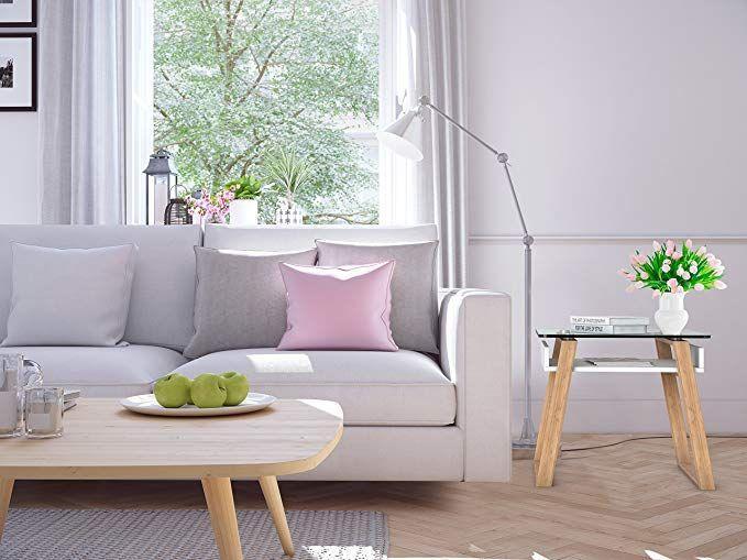 bonVIVO Pablo, Moderner Beistelltisch für Wohnzimmer, Designer-Beistelltisch …
