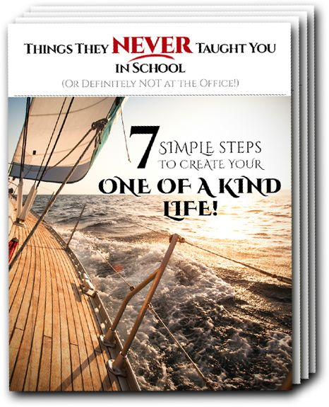 FREE e-course Learn all the things they NEVER taught you in school, in 7 simple steps. To receive a FREE copy go to http://www.globalsuccesssolution.com/pages/carolineb/10905