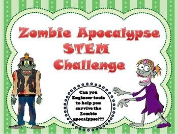 This Ultimate Zombie Apocalypse Survival Pack includes everything your students need to engineer survival tools for a zombie apocalypse. Students use the engineering design process to create a fence/gate, water filter, solar oven, mobile greenhouse and a mobile cooler.Most materials are everyday repurposed items.