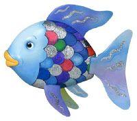 Fröken Flano Filosoferar: Flanosaga: Regnbågsfisken 4 - 5 år