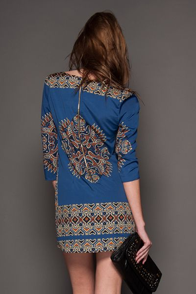 silky blue ikat dress fashion your seat belts
