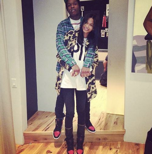 Chanel Iman & ASAP Rocky. Is it really possible to love a bad boy but still be impossibly gorgeous