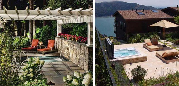 Ideas para instalar un jacuzzi en la terraza o jard n for Jacuzzi jardin segunda mano exterior