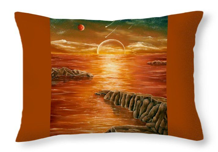 Throw Pillow,  home,accessories,sofa,couch,decor,cool,beautiful,fancy,unique,trendy,artistic,awesome,fahionable,unusual,gifts,presents,for,sale,design,ideas,orange,brown,sunset,ocean