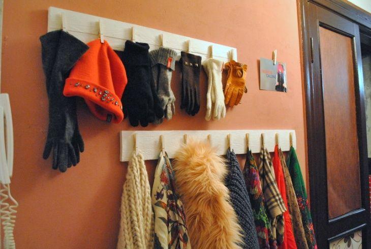 Организованное хранение шарфов и перчаток DIY (соцсоревнование) / Организованное хранение /